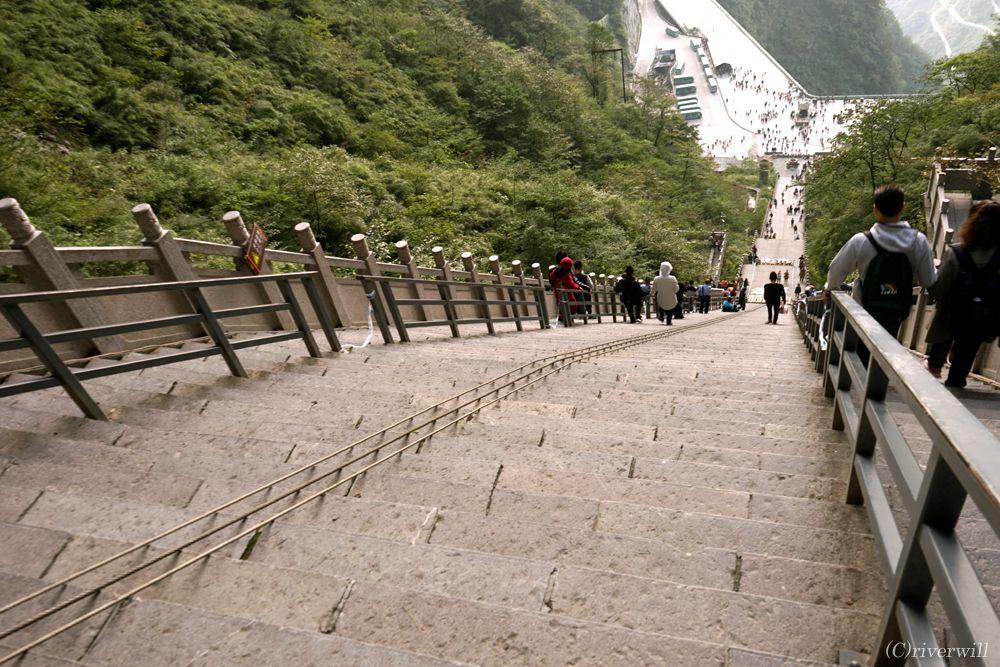 中国 張家界 天門山 China Zhangjiajie Tienmenshan