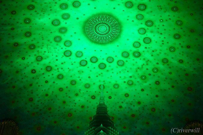 タイ バンコク ワット・パクナム Thailand Bangkok Wat Paknam