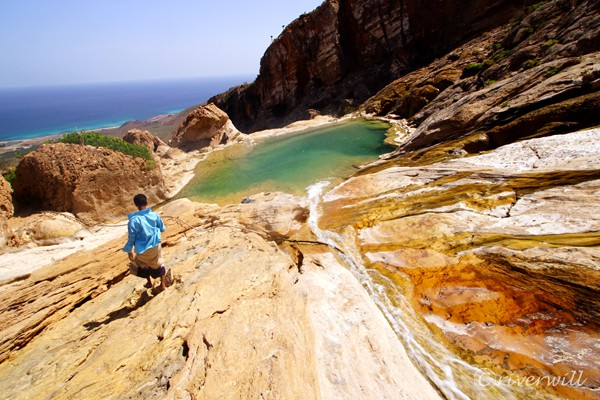 ホムヒル・プール(ソコトラ島)Homhil Pool, Socotra island, Yemen