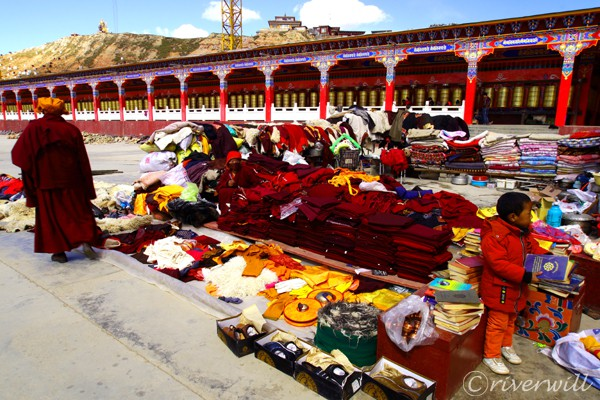 中国 東チベット 亜青寺 China Eastern Tibet Yaqing temple