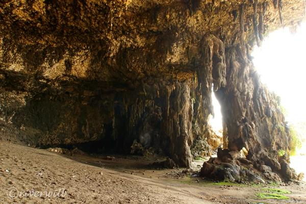 ダグブ・ケイブ Dagub Cave in Socotra island, Yemen